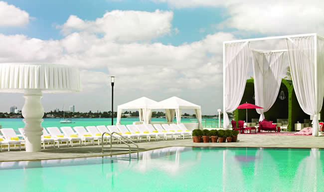 The Mondrian South Beach.