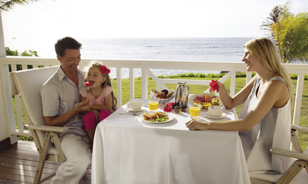 The resort offers an array of kid-friendly culinary offerings,