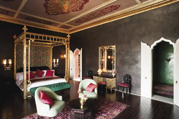 Accommodations at the Taj Palace Marrakech.