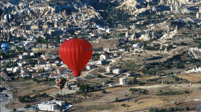 Cappadocia. (Photo courtesy of the Turkish Culture and Tourism Office.)