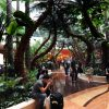 The lobby at the Sheraton Macao mirrors its tropical setting. The once sleepy Portuguese colonial backwater surpassed Las Vegas in gambling revenue in less than 15 years.