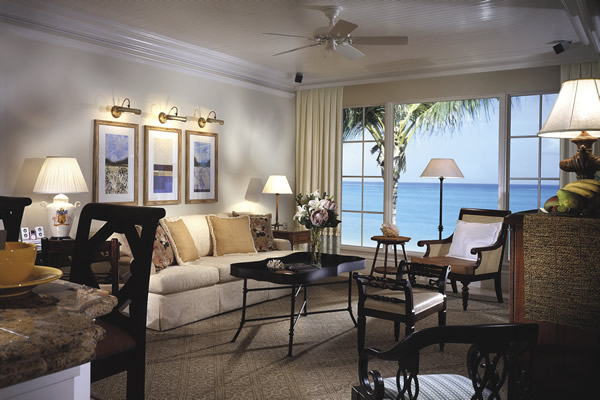 Opulent accommodations await guests at Regent Palm Turks and Caicos