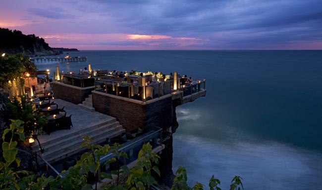 Rock Bar at AYANA Resort and Spa.