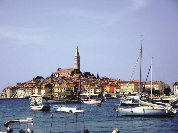 Rovinj, on the Adriatic in Croatia.