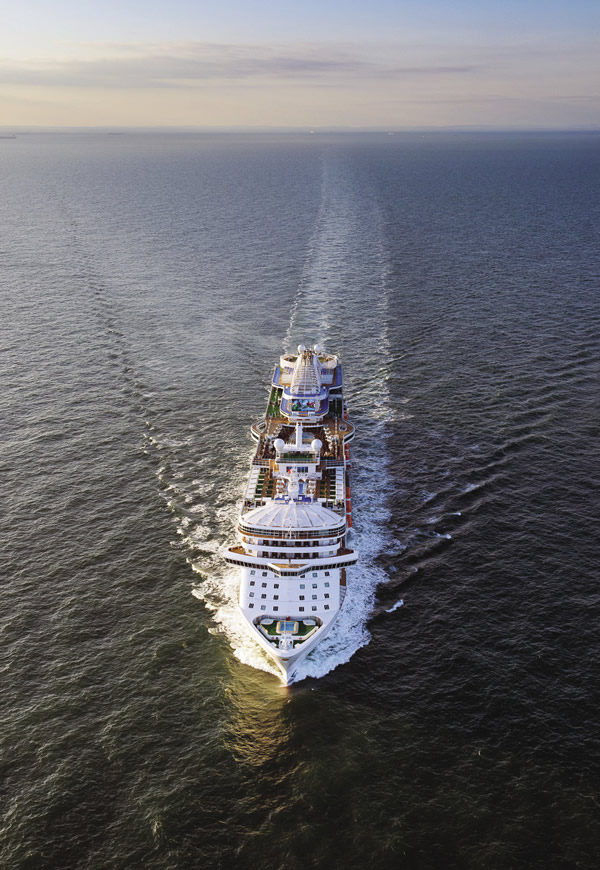 The 141,000-ton Royal Princess is Princess Cruises' first new ship in five years.