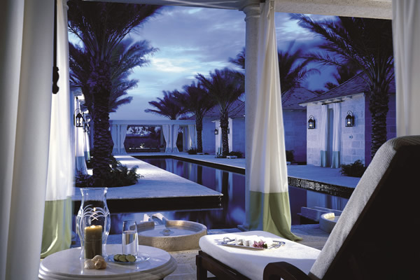 The 26,000 square foot Spa at Regent Palms.