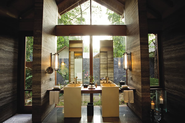 The Datai Langkawi in Malaysia features 14 Beach Villas located just steps from the Andaman Sea.