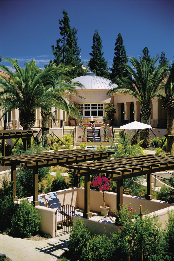 The Fairmont Sonoma Mission Inn and Spa.