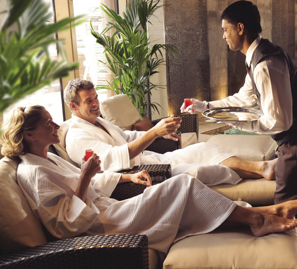 The Royal Spa delivers luxury treatments aboard Queen Elizabeth.