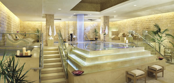 The exquisite Qua Baths & Spa at Cesars Palace in Las Vegas.