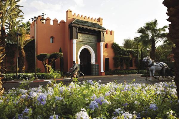 The farmed La Mamounia property in Marrakech.