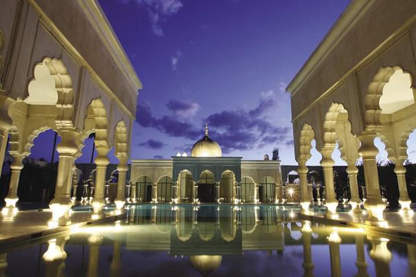 The opulent Palais Namaskar in Marrakech