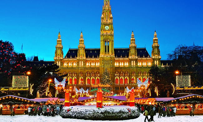 Vienna on AmaWaterways' Christmas Time cruise.