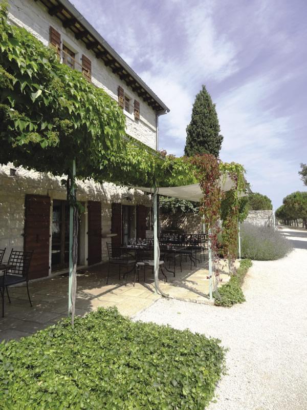 Villa Meneghetti in Istria.