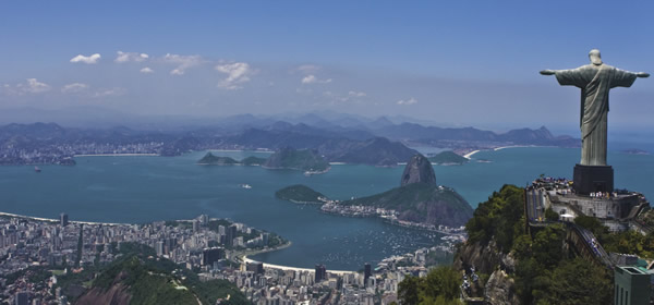 Clients have ample time for sightseeing in Rio on Vistas' 8-day Stunning Brazil itinerary.