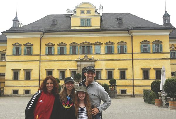 Hellbrunn Palace in Austria.