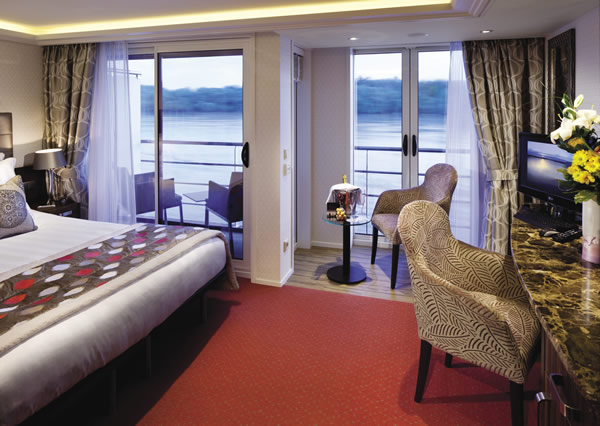 Suite on the AmaPrima.