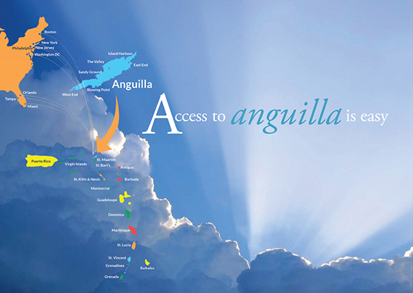 Map of Anguilla location