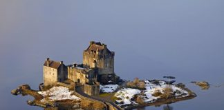 Kyle of Lochalsh in Scotland