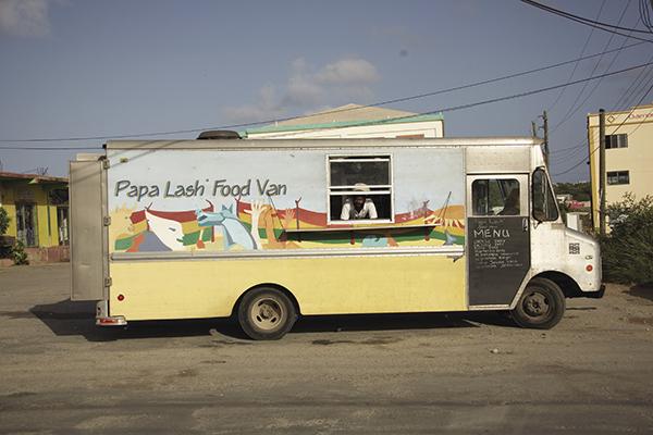 Papa Lash Food Van