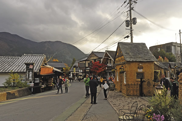 The village of Yuifin in Kyushu is a classic Japanese destination.