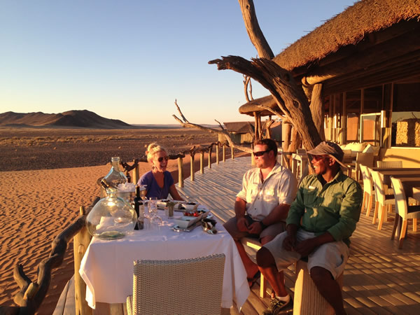 Wildlife viewing and stays in luxury desert retreats such as Little Kulala in Namibia are what it's all about in Africa.