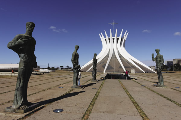 Cathedral of Brasilia.