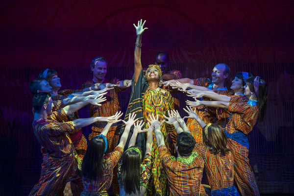 """""""Disney Dreams...An Enchanted Classic,"""" one of the onboard theater productions."""