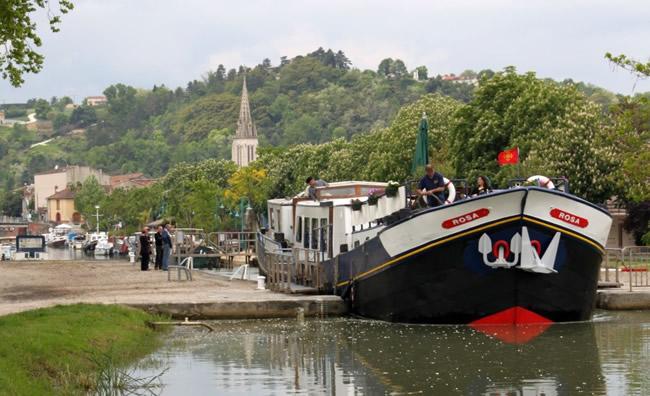 European Waterways Rosa Luxury Hotel Barge