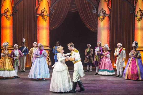 "Families can hang out while watching theatre productions such as ""Twice Charmed:An Original Twist on the Cinderella Story."""