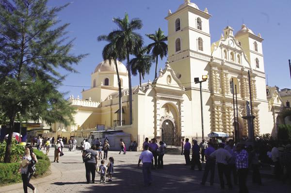 Honduras' capital, Tegucigalpa.