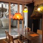 Generator Copenhagen offers continental breakfast in its chic dining area for an additional fee.