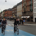 Bikes are a common form of transportation in Copenhagen and a speedy way to get around town.