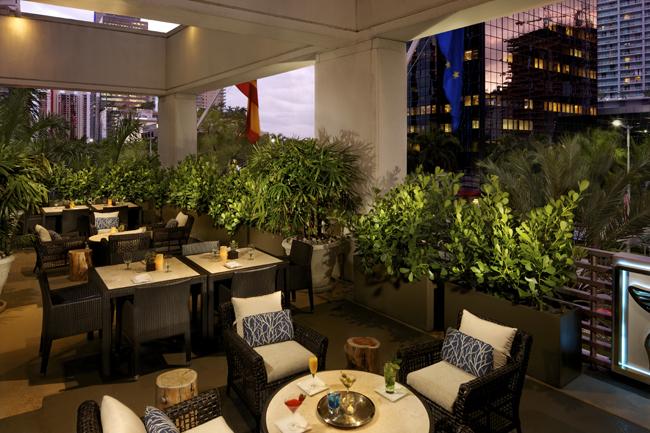 JW Marriott Miami.La Terraza Cafe & Bar
