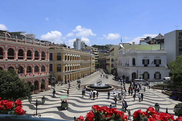 Macau brims with Portuguese influence.