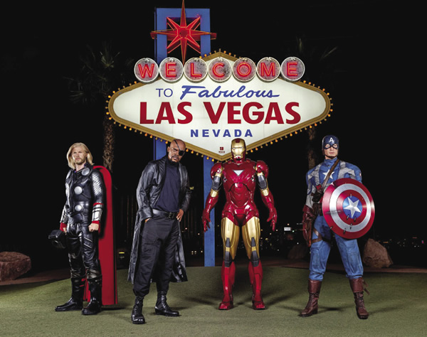 Madame Tussauds' Marvel 4D Interactive Theatre