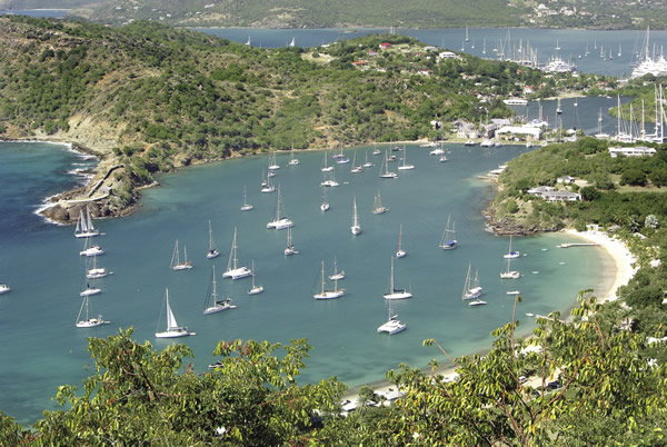 Nelson's Dockyard in Antigua.