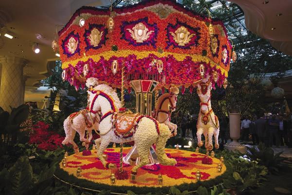 Preston Bailey Floral Sculptures