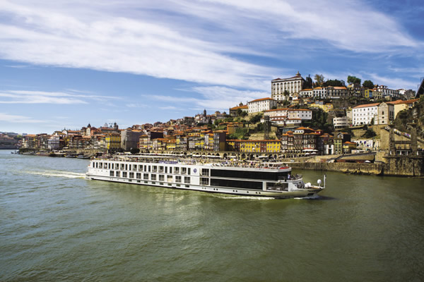 Queen Isabel as it makes its way through one of Portugal's most scenic regions.