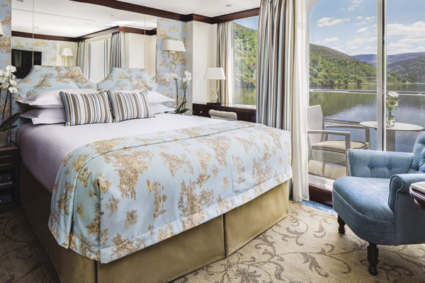 Queen Isabel offers top-of-the-line suite accommodations.