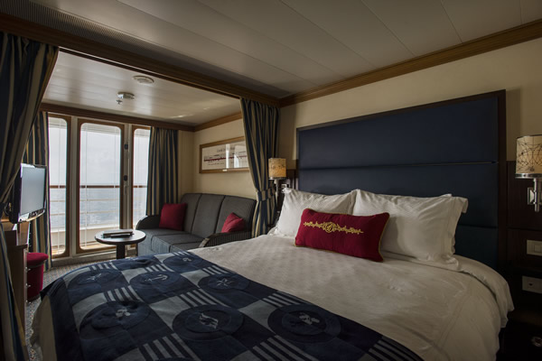 Stateroom with verandah.