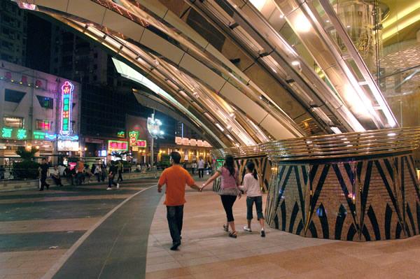 Street scene in Macau.