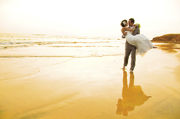 Couples can opt for destination weddings beachside.