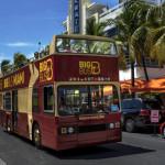 Big Bus Tours in Miami Beach.