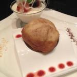 Dessert at CasaMagna Marriott Cancun's Japanese restaurant, Mikado.