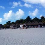 The beach on Isla Mujeres.