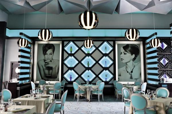 Krystal restaurant at RIU Palace Mexico.