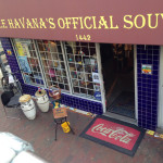 Bis Bus Tours stop in the middle of Little Havana.