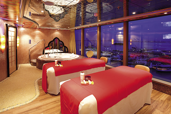 Samsara Spa on the Costa Luminosa