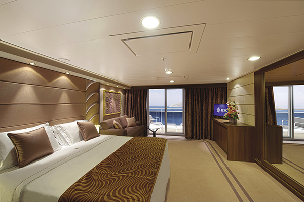 MSC Yacht Club accommodations